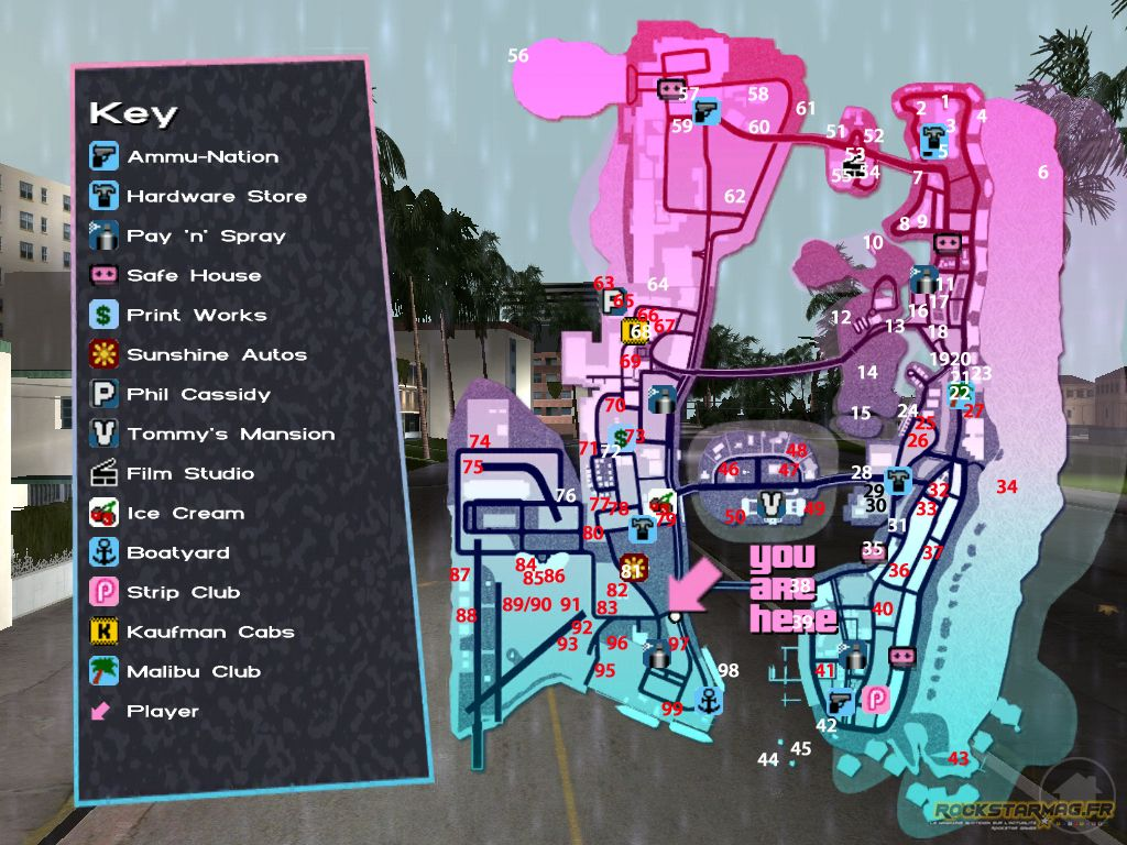 MAP Vice City 10