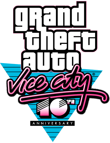 Logo GTA Vice City 10th Anniversary