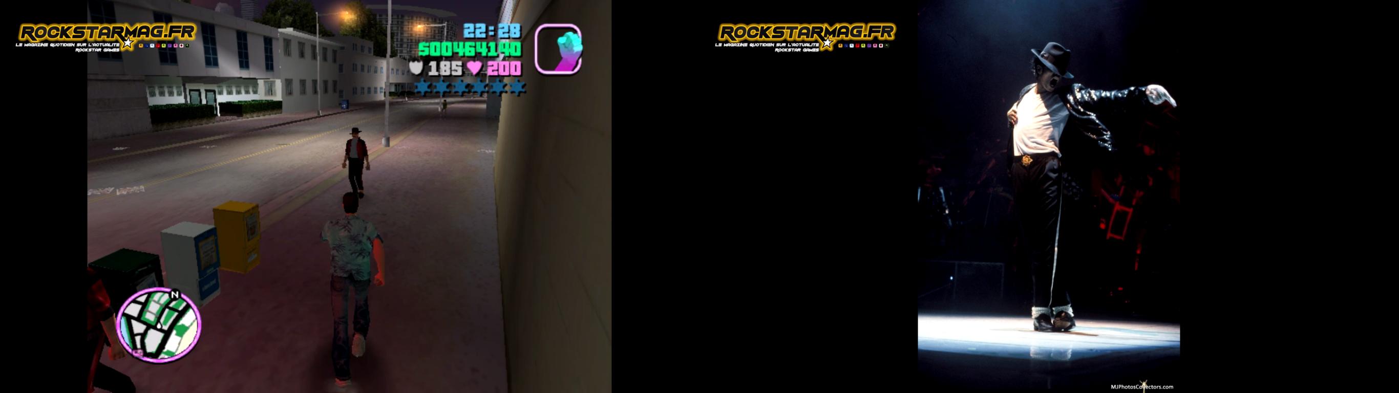 Easter Eggs GTA Vice City 13 Michael Jackson